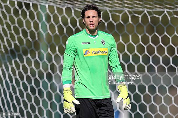 Yann Sommer of Borussia Moenchengladbach during a training session at day eight of Borussia Moenchengladbach training camp on January 15 2015 in...