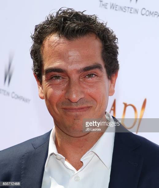 Yann Zenou attends the premiere of The Weinstein Company's 'Leap' on August 19 2017 in Los Angeles California