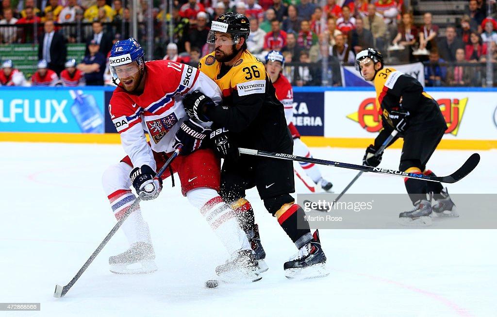 Germany v Czech Republic - 2015 IIHF Ice Hockey World Championship