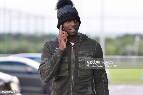 Yannick Bolasie returns to training at USM Finch Farm on July 3 2017 in Halewood England