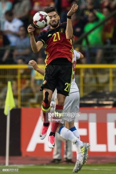 Yannick Carrasco of Belgium Ladislav Krejci of Czech Republicduring the friendly match between Belgium and Czech Republic on June 05 2017 at the...