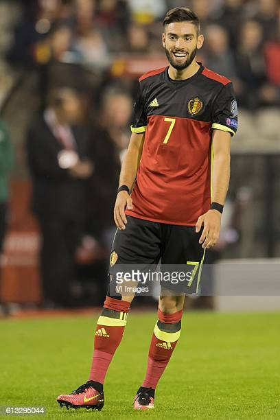Yannick Carrasco of Belgiumduring the FIFA World Cup 2018 qualifying match between Belgium and Bosnie Herzegowina on October 07 2016 at the Koning...