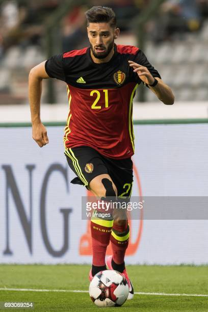 Yannick Carrasco of Belgiumduring the friendly match between Belgium and Czech Republic on June 05 2017 at the Koning Boudewijn stadium in Brussels...
