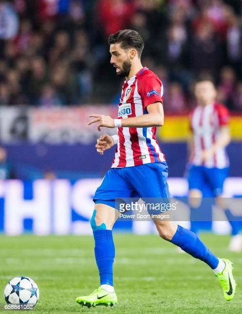 Yannick Ferreira Carrasco of Atletico de Madrid in action during their 201617 UEFA Champions League Round of 16 second leg match between Atletico de...
