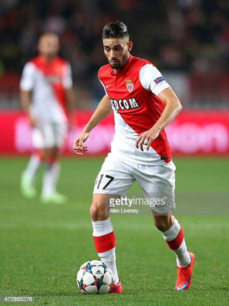 Yannick Ferreira Carrasco of Monaco during the UEFA Champions League quarterfinal second leg match between AS Monaco FC and Juventus at Stade Louis...