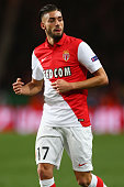 Yannick FerreiraCarrasco of AS Monacoduring the UEFA Champions League Round of Sixteen 2nd Leg match between AS Monaco and Arsenal at Stade Louis II...