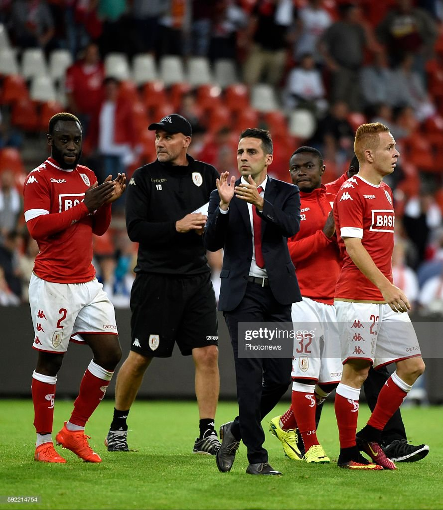 Yannick Ferrera head coach of Standard Liege pictured during Jupiler Pro League match between Standard of Liege and Sporting of Charleroi on August...
