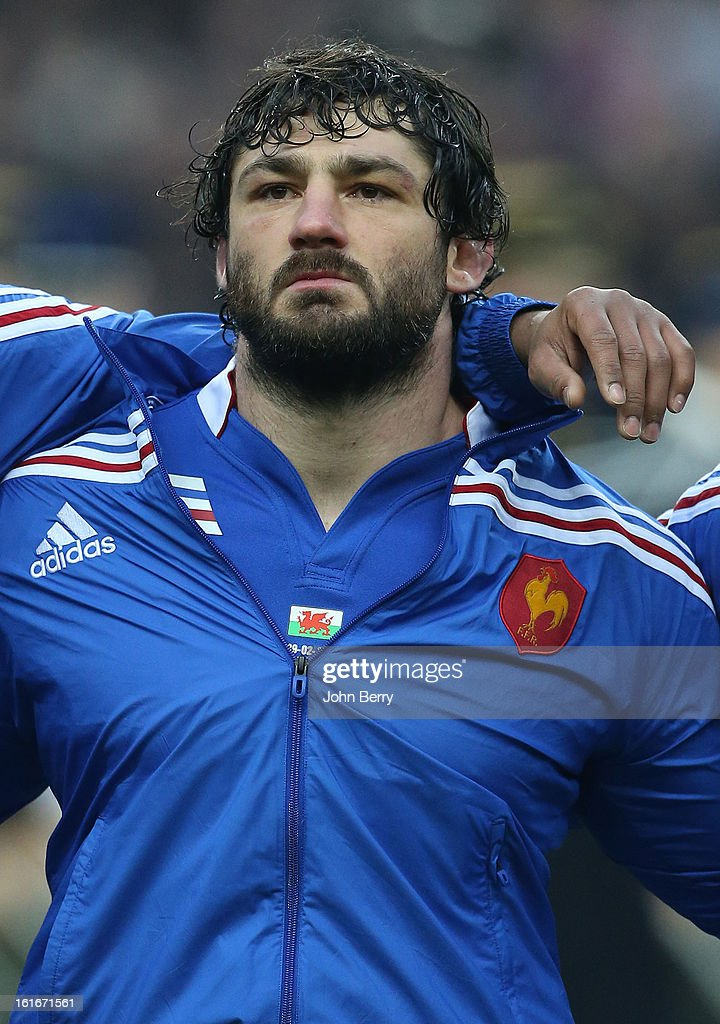 Yannick Forestier of France poses before the 6 Nations match between France and Wales at the Stade de France on February 9, 2013 in Paris, France.