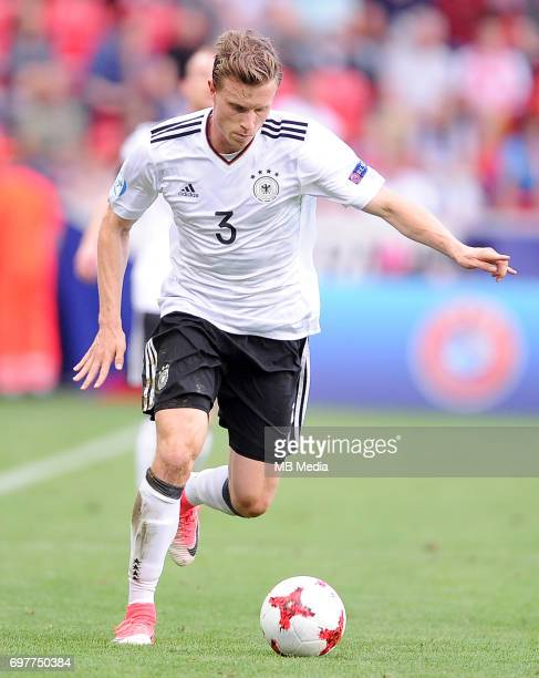 Yannick Gerhardt during the UEFA European Under21 match between Germany and Czech Republic on June 18 2017 in Tychy Poland