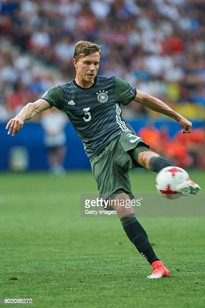Yannick Gerhardt of Germany during the UEFA European Under21 Championship Semi Final match between England and Germany at Tychy Stadium on June 27...