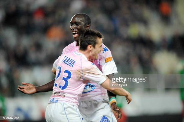 Yannick SAGBO / Nicolas FARINA Sedan / Evian Thonon 30e journee Ligue 2