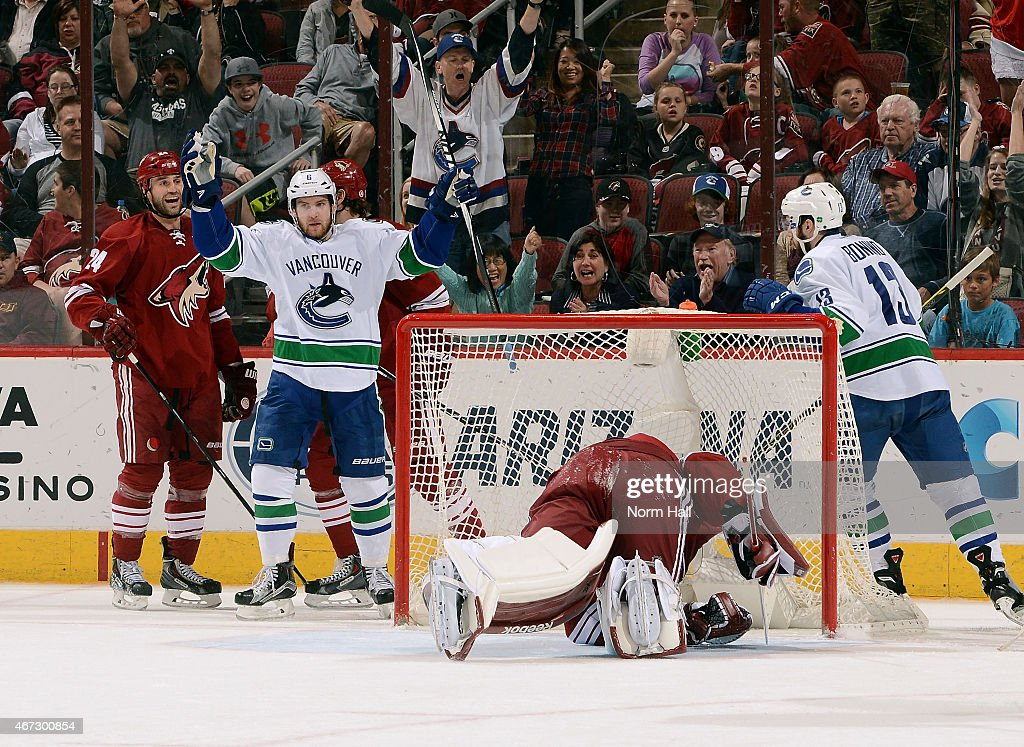Vancouver Canucks v Arizona Coyotes