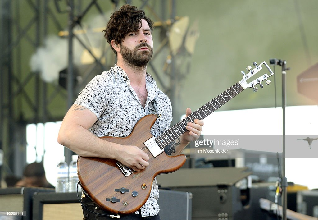 Yannis Philippakis of Foals performs during the Sasquatch Music Festival at the Gorge Amphitheater on May 23 2014 in George Washington