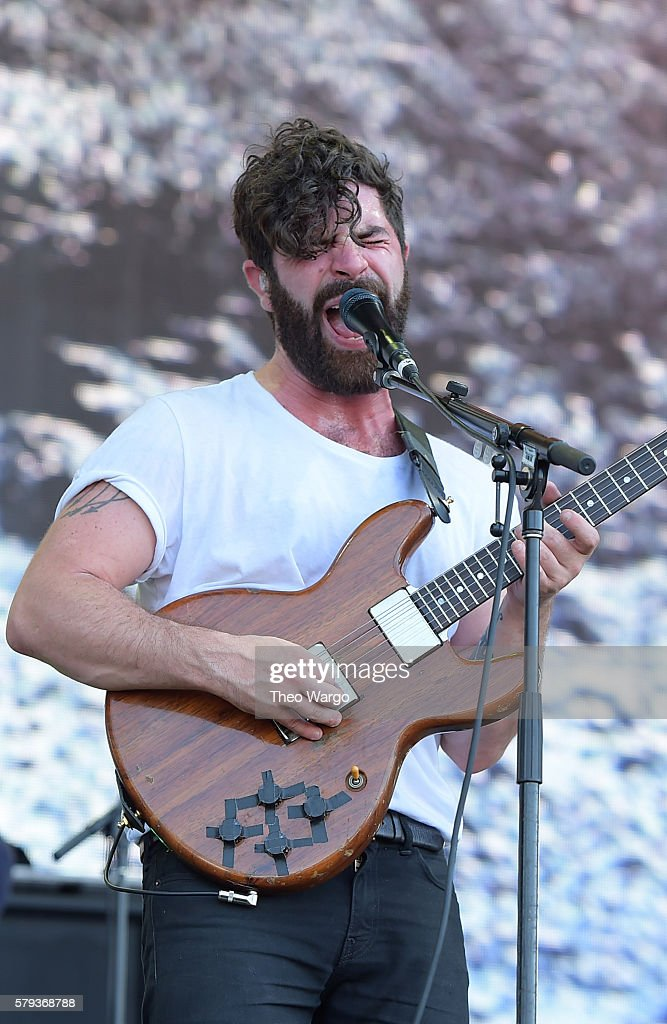 Yannis Philippaks of Foals performs onstage 2016 Panorama NYC Festival Day 2 at Randall's Island on July 23 2016 in New York City