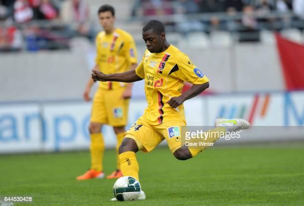Yannis SALIBUR Reims / Boulogne 31e journee de Ligue 2 Photo Dave Winter / Icon Sport