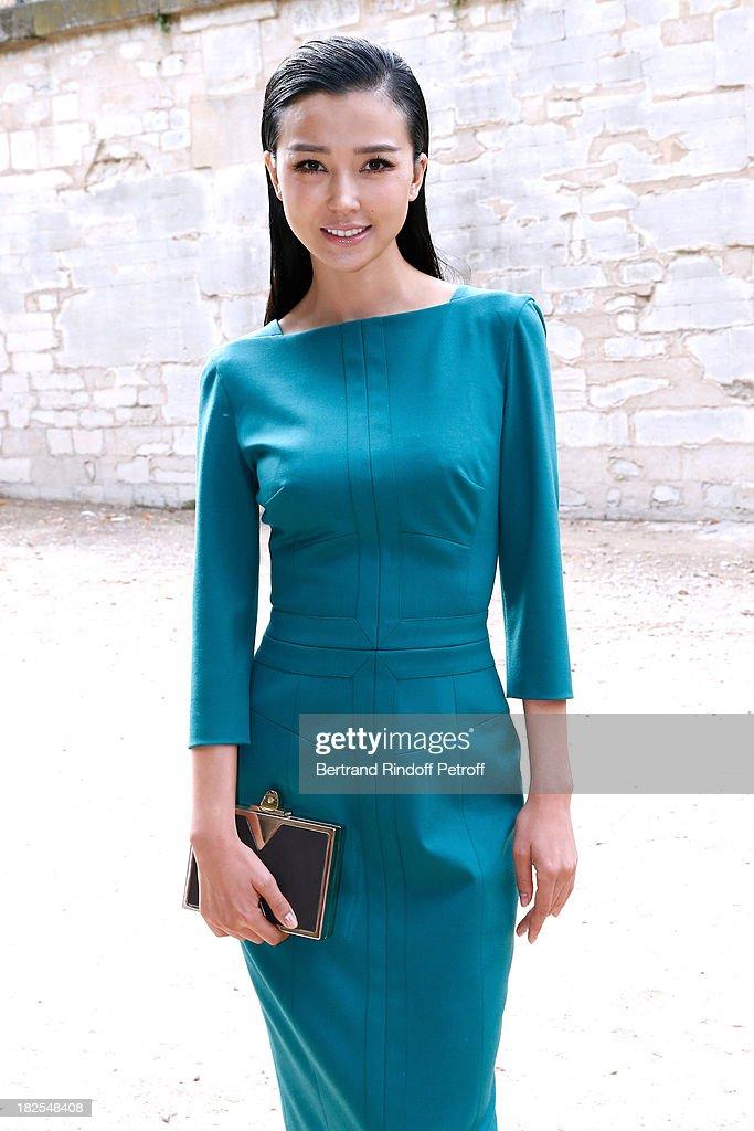 Elie Saab : Outside Arrivals - Paris Fashion Week Womenswear  Spring/Summer 2014