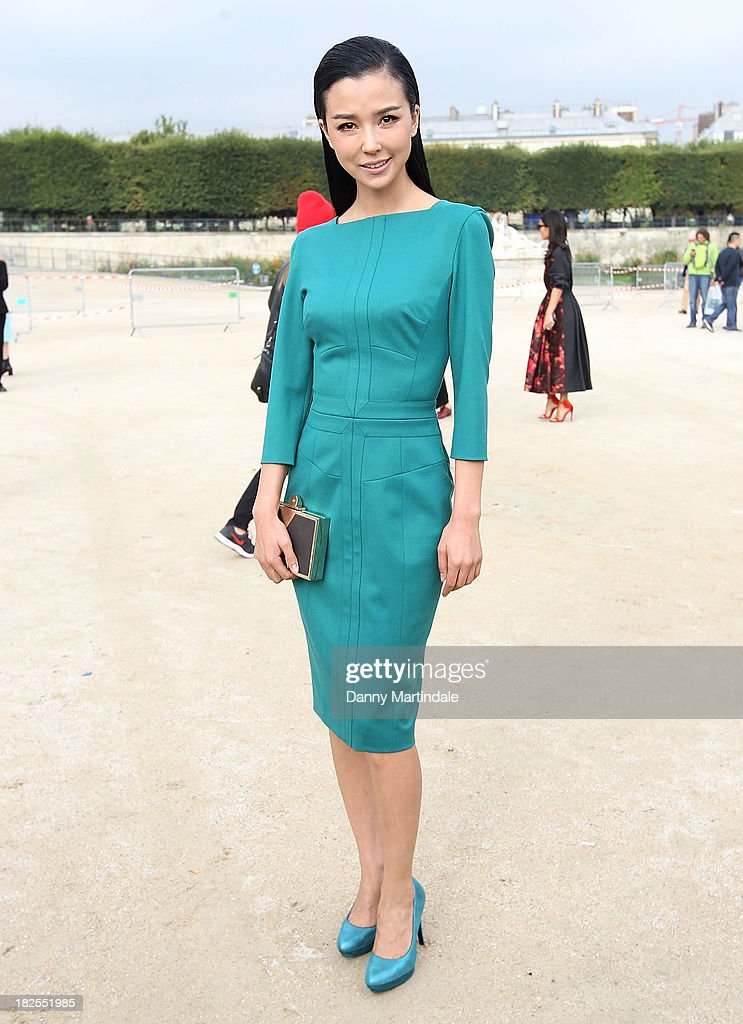 Celebrity Sightings At Paris Fashion Week - Womenswear SS14 - Day 7