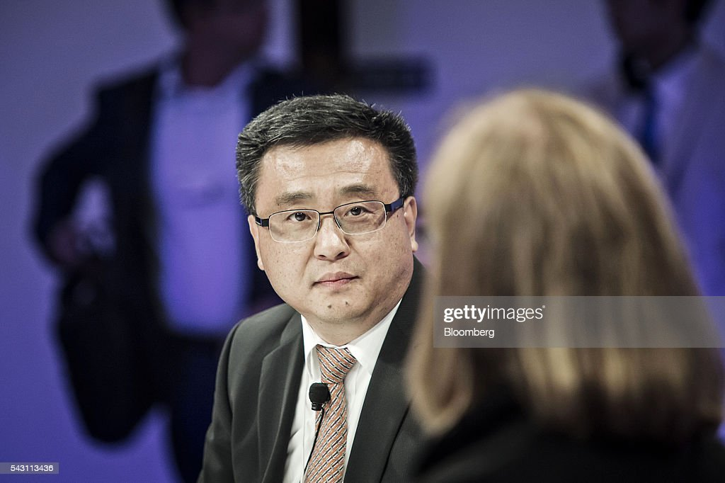 Ya-Qin Zhang, president of Baidu Inc., listens during a session at the World Economic Forum (WEF) Annual Meeting of the New Champions in Tianjin, China, on Sunday, June 26, 2016. The meeting runs through June 28. Photographer: Qilai Shen/Bloomberg via Getty Images