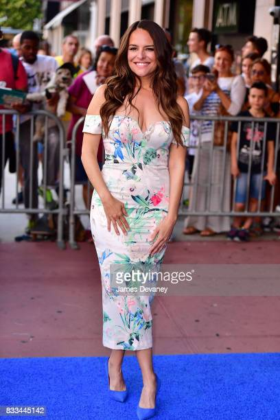 Yara Martinez arrives to 'The Tick' Blue Carpet Premiere at Village East Cinema on August 16 2017 in New York City