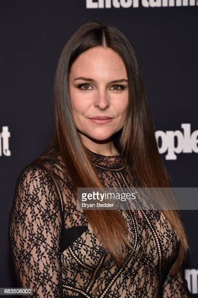 Yara Martinez of Jane the Virgin attends the Entertainment Weekly and PEOPLE Upfronts party presented by Netflix and Terra Chips at Second Floor on...