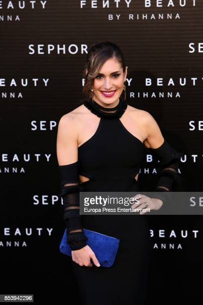 Yara Puebla attends Fenty Beauty by Rihanna Launch on September 23 2017 in Madrid Spain