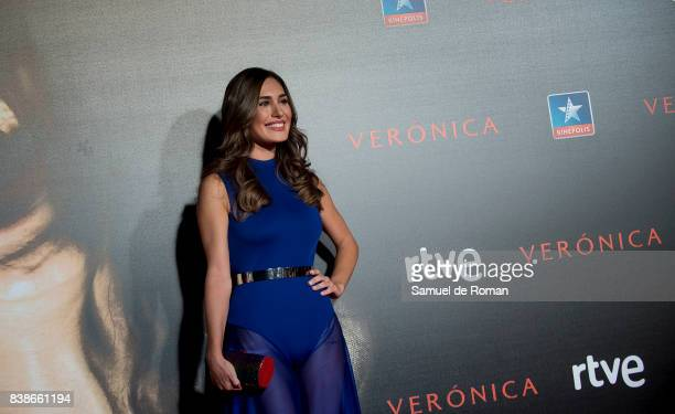 Yara Puebla Prada attends the 'Veronica' Madrid Premiere on August 24 2017 in Madrid Spain