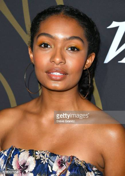 Yara Shahidi arrives at the Variety Power Of Young Hollywood at TAO Hollywood on August 8 2017 in Los Angeles California