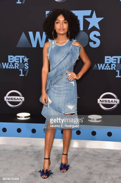 Yara Shahidi at the 2017 BET Awards at Microsoft Square on June 25 2017 in Los Angeles California