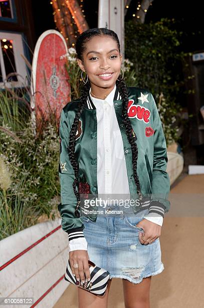 Yara Shahidi attends 14th Annual Teen Vogue Young Hollywood with American Eagle Outfitters on September 23 2016 in Malibu California