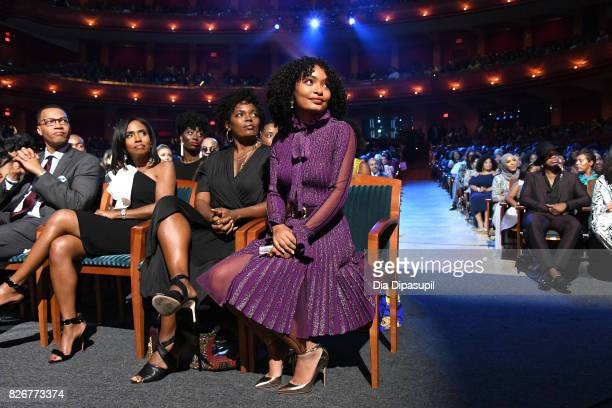 Yara Shahidi attends Black Girls Rock 2017 at NJPAC on August 5 2017 in Newark New Jersey