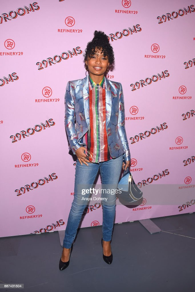 Yara Shahidi attends Refinery29 29Rooms Los Angeles: Turn It Into Art at ROW DTLA on December 6, 2017 in Los Angeles, California.
