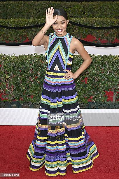 Yara Shahidi attends the 23rd Annual Screen Actors Guild Awards at The Shrine Expo Hall on January 29 2017 in Los Angeles California