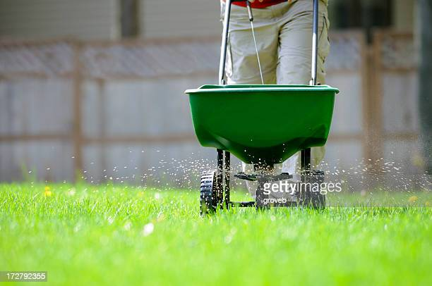 Yard fertilizing