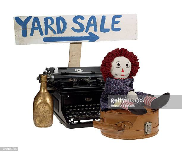 Yard sale objects