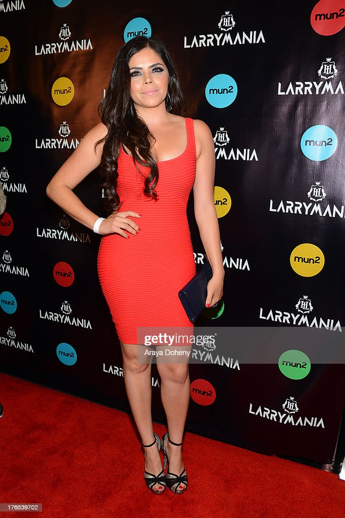 <a gi-track='captionPersonalityLinkClicked' href=/galleries/search?phrase=Yarel+Ramos&family=editorial&specificpeople=6123533 ng-click='$event.stopPropagation()'>Yarel Ramos</a> attends 'Larrymania' Season 2 Premiere Launch Party at SupperClub Los Angeles on August 14, 2013 in Los Angeles, California.