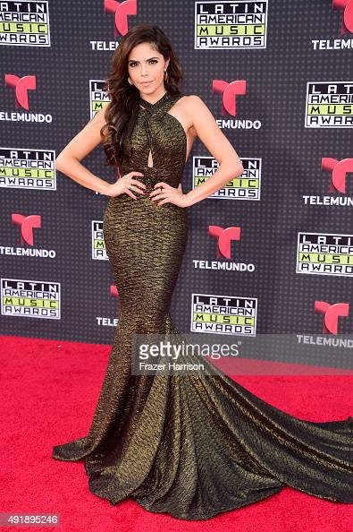 Yarel Ramos attends Telemundo's Latin American Music Awards at the Dolby Theatre on October 8 2015 in Hollywood California