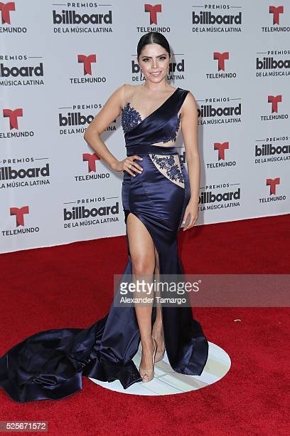 Yarel Ramos attends the Billboard Latin Music Awards at Bank United Center on April 28 2016 in Miami Florida