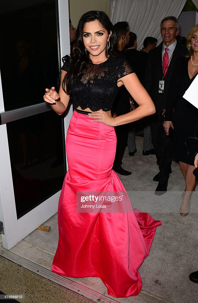 Yarel Ramos backstage at 2015 Billboard Latin Music Awards presented by State Farm on Telemundo at Bank United Center on April 30 2015 in Miami...