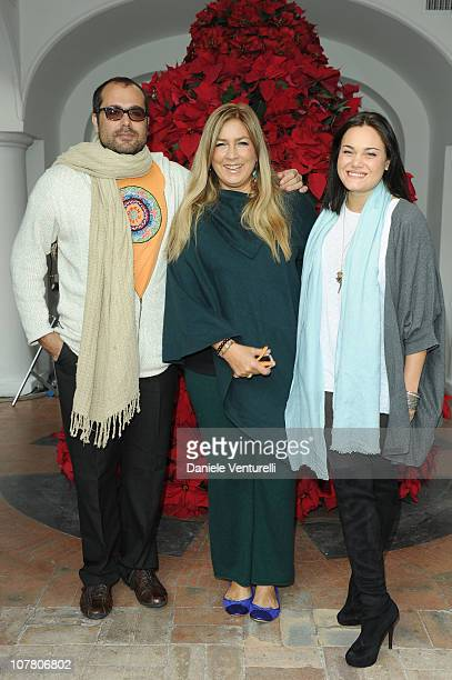 Yari Carrisi Romina Power and Romina Carrisi attend the third day of the 15th Annual Capri Hollywood International Film Festival on December 29 2010...