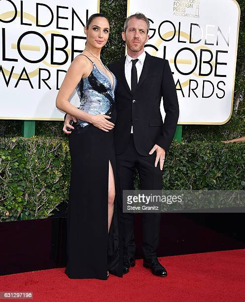 Yaron Versano Gal Gadot arrives at the 74th Annual Golden Globe Awards at The Beverly Hilton Hotel on January 8 2017 in Beverly Hills California