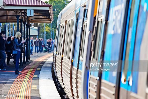 Yarraville railway station, Melbourne