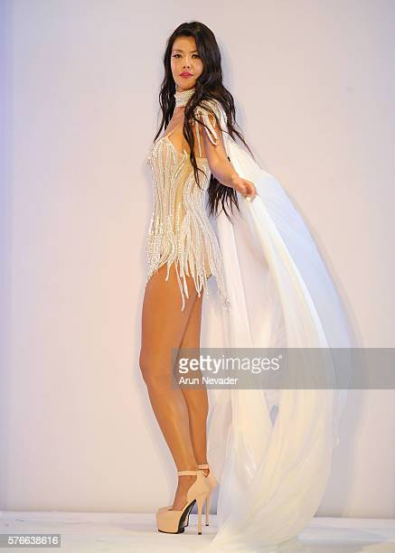 Yas Couture by Elie Madi at the Art Hearts Fashion Miami Swim Week At W Hotel Presented By Planet Fashion TV at W Hotel on July 16 2016 in Miami...