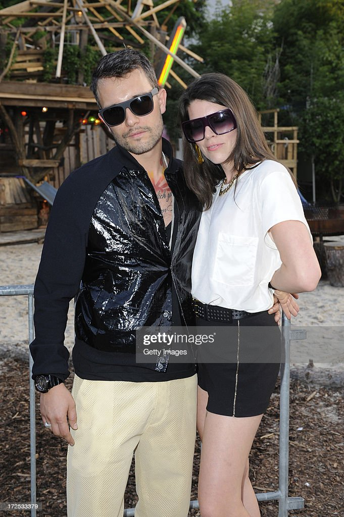 Yasha Conen and Sarah Conen attend G-Star presents Spring/Summer 2014 collection during Bread & Butter on July 02, 2013 in Berlin, Germany.
