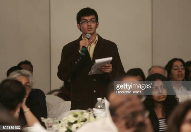 Yashraj Jain Student of HR College Participate at Session 4 Culture and Heritage of Mumbai Project Symposium at Hotel Taj Mumbai