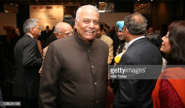 Yashwant Sinha during the MJ Akbar's Book Launch TinderboxThe Past and Future of Pakistan on January 112011 in New Delhi