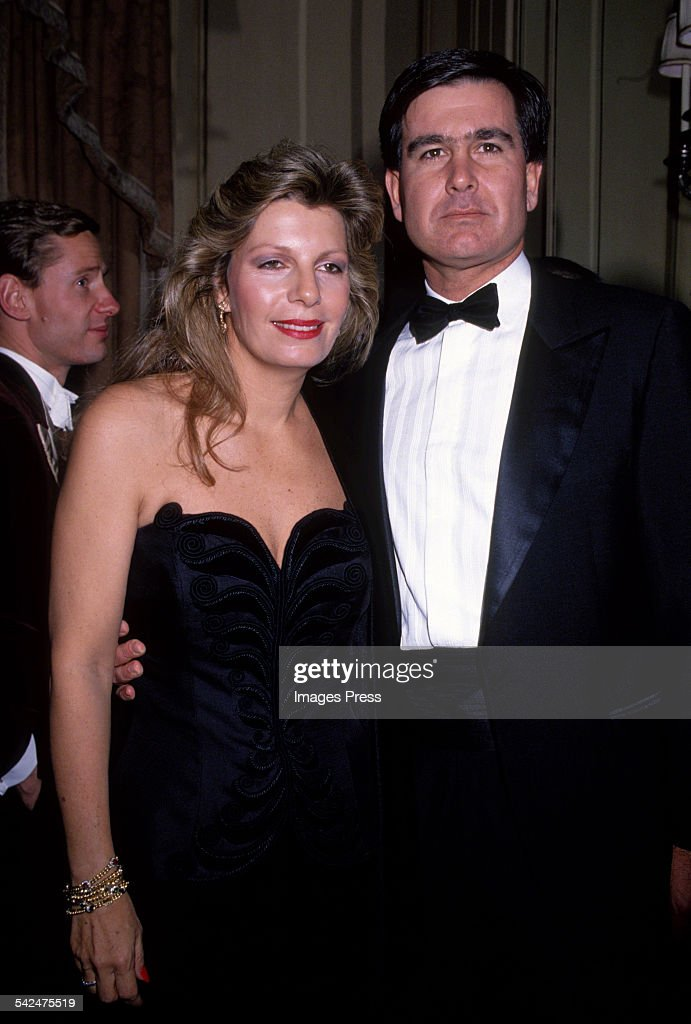 Yasmin Aga Khan and Christopher Michael Jeffries circa 1989 in New York City
