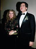 Yasmin Aga Khan and Christopher Michael Jeffries on their wedding day circa 1989 in New York City