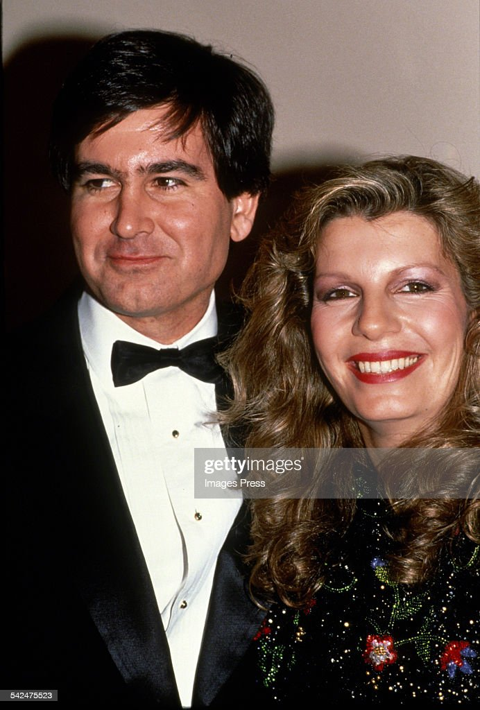 Yasmin Aga Khan and Christopher Michael Jeffries on their wedding day circa 1989 in New York City