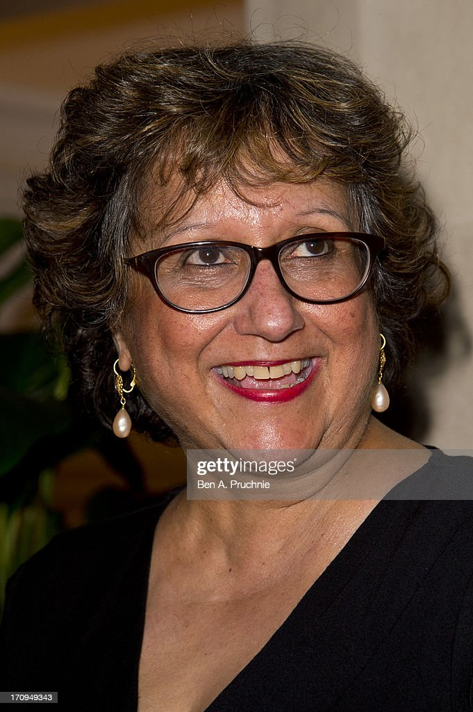 Yasmin Alibhai-Brown attends The New Statesman Centenary Party at Great Hall on June 20, 2013 in London, England.