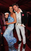 Yasmin and Simon Le Bon attend the annual Serpentine Gallery summer party at The Serpentine Gallery on July 8 2010 in London England